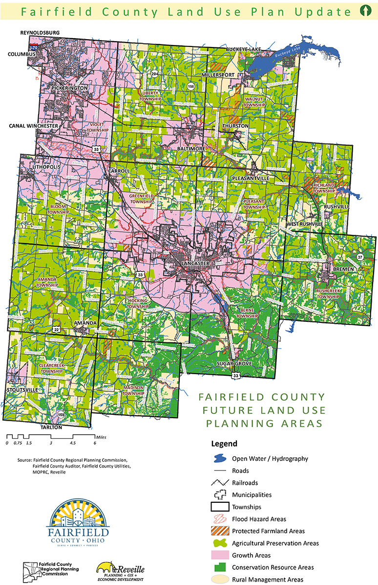 Fairfield County Land Use Map